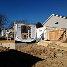 Framing Materials Arrive And Framing Begins. Building a new homeFraming MaterialsBegin & 102 best Great Ideas When Building a New Home images on Pinterest in ...
