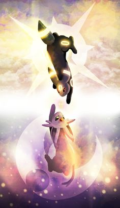 UMBREON:Venus||female||dark kingdom||mom-espeon,dad-umbreon||seperated sister-Amethist||curious||people-person||strong||smart||  ESPEON:Amethist||female||physic kingdom||seperated sister-Venus||mom-espeon,dad umbreon||kind||pretty||shy||quiet||both:mate•none||crush•none||