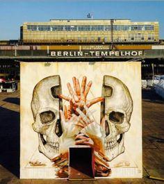 Street Art by Alexis Diaz, located in Berlin, Germany