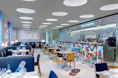 Damien Hirst and Mark Hix England Newport Street Gallery Pharmacy 2. 药房主题餐厅http://tummyfriend.com/damien-hirst-mark-hix-pharmacy-2-restaurant/ #DamienHirst# #MarkHix# #PharmacyRestaurant# #tummyfriend#