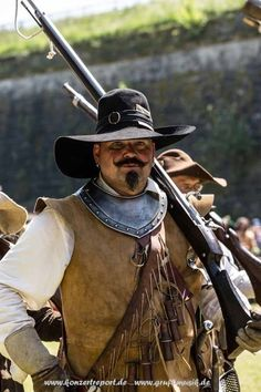 17th c. MUSKATELLER Conquistador, Types Of Armor, Golden Age Of Piracy, Authentic Costumes, 17th Century Fashion, Thirty Years' War, Dark Fairytale, Classical Period, Landsknecht