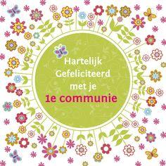 hartelijk gefeliciteerd met je communie 35 best communie vormsel images on Pinterest | Best of luck, Good  hartelijk gefeliciteerd met je communie