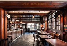Grand: Its wooden panels reflected the higher status customers in the area, which the pub ...