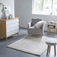 Tapis shaggy, aspect laineux, Afaw La Redoute Interieurs