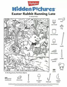 Hidden Pictures Publishing: Easter Hidden Picture Puzzle