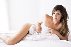 Image result for white sheet boudoir photography