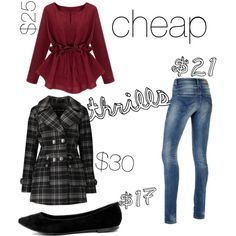 Cheap thrills by sadsmith on Polyvore featuring Urban Republic and Breckelle's