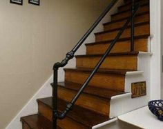 Custom Pipe Railings, Shelving, and Furniture