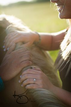 Horse themed engagement session  www.kyleenolsonphotography.com Minnesota Photographer