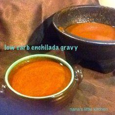 Low Carb Enchilada Gravy