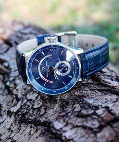 Carl von Zeyten CVZ0032BL - zegarek Neuschwanstein Automatic • Zegarownia.pl Watches, Leather, Accessories, Fashion, Moda, Wristwatches, Fashion Styles, Clock, Fashion Illustrations