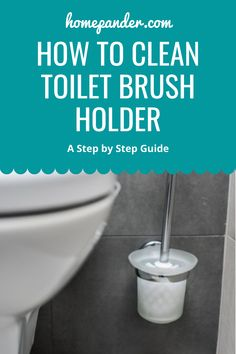 Read our article on how to clean toilet brush holder from all the gunk? #bathroom #toilet Bathroom Cleaning Hacks, Toilet Cleaning, House Cleaning Tips, Deep Cleaning, Cleaning Supplies, Shower Soap, Lazy People, Best Cleaning Products, Soap Scum