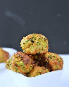 zucchini balls gluten free appetizers