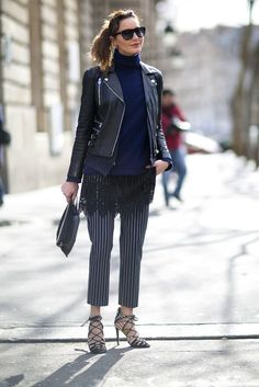 Paris Fashion Week Fall 2015: Street Style