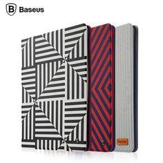 BASEUS Classic Series Slim Stripe Leather Flip Folding Case Cover For iPad Mini #ipadminicase #ipadminiacc #appleacc
