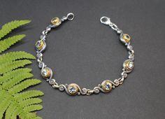Modernes Trachtenschmuck Armband Larissa - Schmuck Steiner Amethyst, Charmed, Business, Bracelets, Jewelry, Fashion, Gems, Silver, Armband