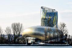 La Cité du Vin by XTU architects in Bordeaux, France