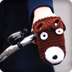 Animal mittens