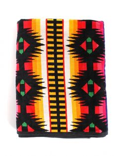 Black Jaquard Towel by Pendleton