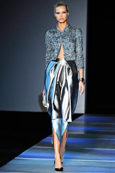 Giorgio Armani Spring 2012 RTW - Review - Fashion Week - Runway, Fashion Shows and Collections - Vogue