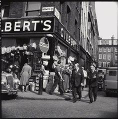 Berwick Street/Broadwick Street - c.1961.