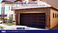 Want a touch of Bali to finish off your home's curb appeal? Our Framed Horizontal Grooved design garage doors from our Timba-dor™ Range are definitely the kind of garage doors that will add some Eastern flare to your home. This door was treated with a Deep Brown oil to enhance the desired look.  www.doorzonesa.com