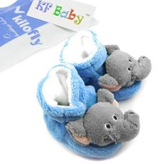 Amazon.com: KF Baby Animal Soft Sole Booties, for 3-12 Months - Elephant: Baby