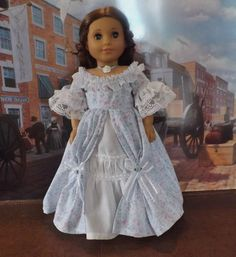 Enchanted Ballgown for American Girl Marie Grace, Felicity, Cecile, Addy
