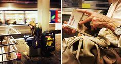 Un chouette projet photo qui met à l'honneur les parisiennes qui lisent dans le métro #Inspiration
