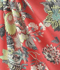 Williamsburg Portobello Vase Ladybug Fabric : Image 4