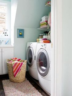 Download our laundry room planning guide here: http://www.bhg.com/rooms/laundry-room/makeovers/laundry-room-planning-guide/?socsrc=bhgpin012015laundryroomplanningguide