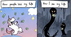 I Explain What My Depression And Anxiety Feels Like Through These Comics | Bored Panda