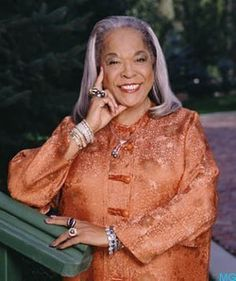 Della Reese, Christian, Grammy award-winning gospel singer, actress, spokeswoman for the American Diabetes Association, and ordained minister. I loved her choice of movie and TV roles she chose to do..........  I'm big fan!