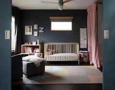 ¿Te atreves con los colores oscuros en dormitorios infantiles?