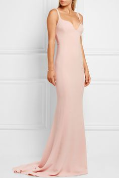 Stella McCartney | Stretch-crepe gown | NET-A-PORTER.COM