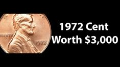 1972 Lincoln Cent Penny Value. 1972 Lincoln Cent year provides a great opportunity to find a doubled die. Doubled dies are so common for 1972 that most peopl. Valuable Pennies, Rare Pennies, Valuable Coins, Ancient Greece, Ancient Egypt, Ancient History, European History, American History, Penny Values