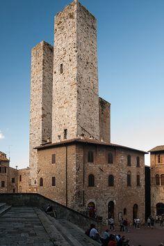 San Gimignano, province of Siena , Tuscany, Italy