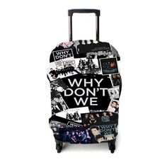 Why Dont We Collage Luggage Cover Collage Iphone, Luggage Cover