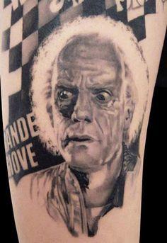 Realism Movies Tattoo by Speranza Tatuaggi - http://worldtattoosgallery.com/realism-movies-tattoo-by-speranza-tatuaggi/