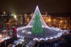 Vilnius Christmas Tree, 2016-2017