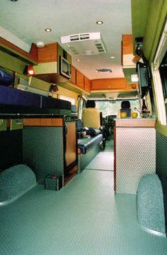 Sportsmobile Custom Camper Vans - Bikes/Toy Haulers - Brian Lopes 55