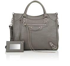 BALENCIAGA Metallic Edge Velo. #balenciaga #bags #shoulder bags #hand bags #leather #metallic #