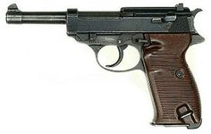 The Walther P38 is a 9 mm semi-automatic pistol that was developed by Walther as the service pistol of the Wehrmacht at the beginning of World War II. It was intended to replace the costly Luger P08, the production of which was scheduled to end in 1942.