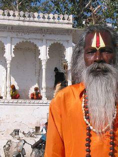 Saddhu, Udaipur, India