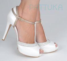 Sandalias de novia LODI Asen