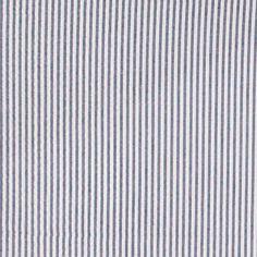 Seersucker, Blau/Weiß, garngef. Streifen