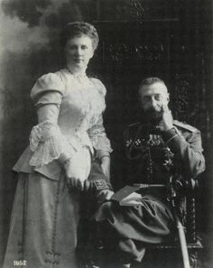 Grand Duke Konstantin and his wife Elizaveta.