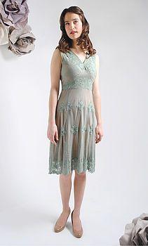 Reef Green Claudia Lace Dress