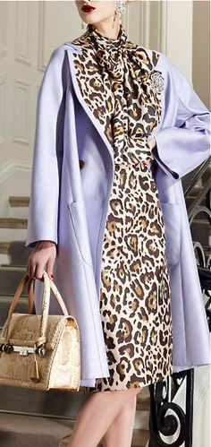 Oh my goodness, two of my favorites together...purple and leopard!!