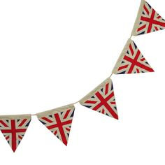 Vintage Union Jack Bunting from Powell Craft